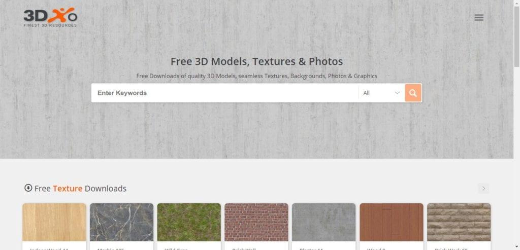 3DX0 : téléchargez des textures gratuites