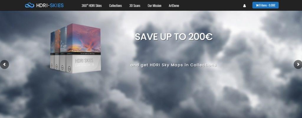 Images HDRI gratuites: hdr skies